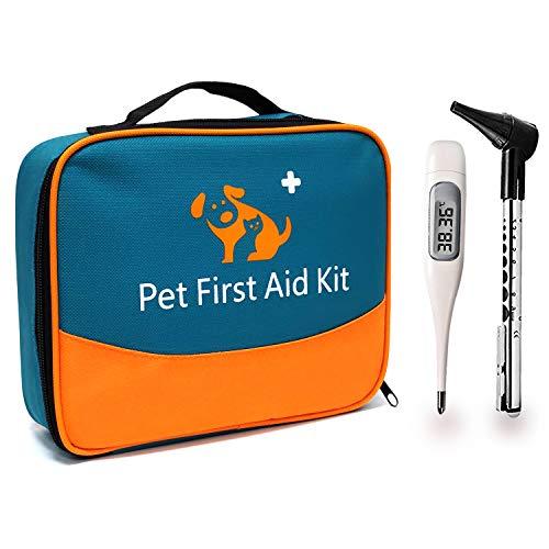 iBaby-Fish Das Erste-Hilfe-Set für Haustiere enthält EIN Thermometer und EIN Veterinär-Otoskop. Für...