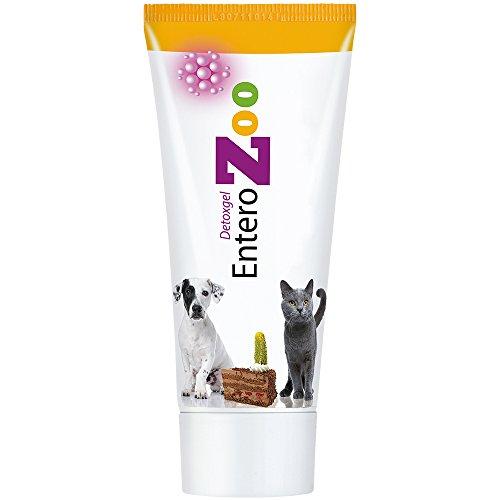 EnteroZoo Entgiftungsgel Tube 100g - bei Vergiftung, schlechter Verdauung oder Durchfall für Hunde und...
