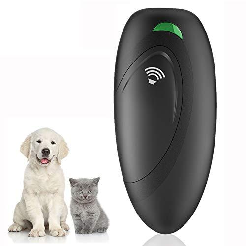 VINSIC Anti-Bell-Gerät für Hunde, Ultraschall Anti-Bellen-Gerät mit 5 Meter Regelbereich, Hunde...