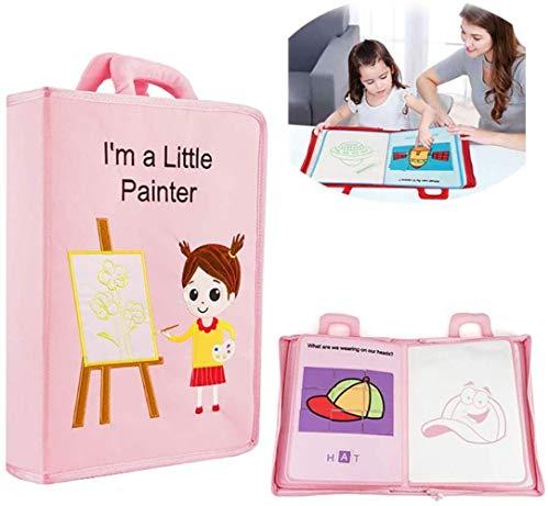 Toy Lyl Canvas Puzzle Tuch Buch Wasserdicht Reißfest Erleuchtung Baby Entwicklung Schnellbuch Frühe...