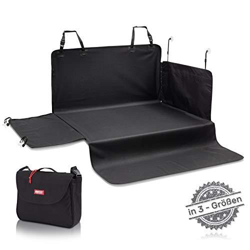 BARTSTR Hochwertiger Kofferraumschutz - 170 x 95cm - Ideale Hunde Kofferraumdecke mit Stoßstangenschutz...