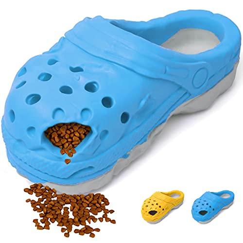 Vertvie Hundespielzeug Hausschuhe Kauspielzeug robust langlebig aus Naturkautschuk Zahnpflege...