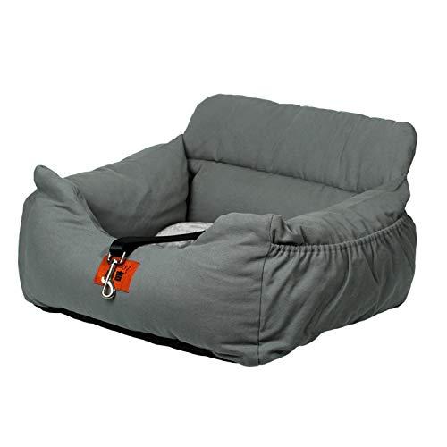 NIBESSER 2-in-1 Autositz und Bett für Hunde, wasserfest und rutschfest, Sitzerhöhung für Katzen,...