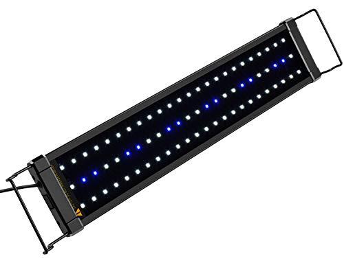 NICREW ClassicLED Aquarium Beleuchtung, Aquarium LED Lampe mit Mondlicht, LED Licht für...