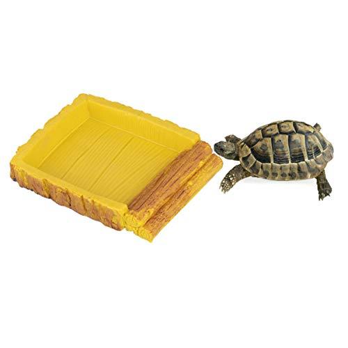 POPETPOP Popopop Wasserwanne für Reptilien, Behälter für Lebensmittel, Kunststoff, langlebig und...