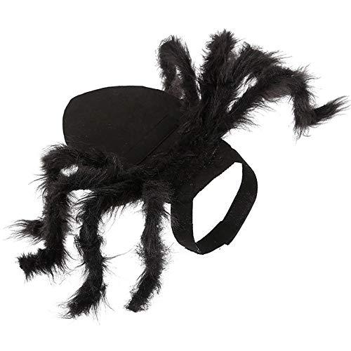Ourine Haustier-Spinnenkostüm für Halloween, Haustier-Spinne, Kleidung, Hund, Katze, Horror-Simulation,...