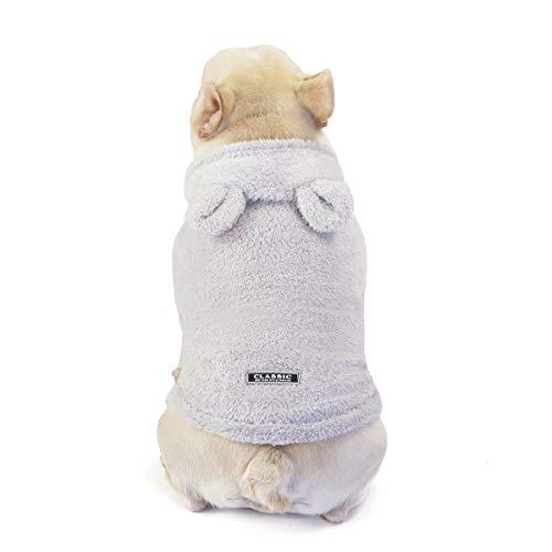 Hundemantel Winter Kleine Hunde Hundepullover - Thick Furry Hund Hoodies Nette Warme Hunde-Kleidung- Für...