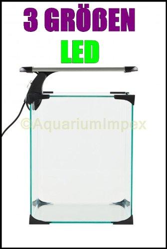 Nano LED Intenso 7,2 Watt Klemmleuchte Lampe Leuchte Aquarium Beleuchtung Aufsetzleuchte