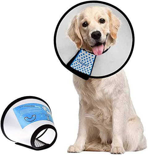 Supet Halskrause für Haustiere Schutzkragen Kegel Krägen aus Kunststoff Besondere Schutz für Katzen...