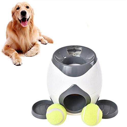 Kaura Ballwurfmaschine Hunde, Ultimate Wurfspielzeug Interaktives Automatisches Ballwerfer, Tennisball...