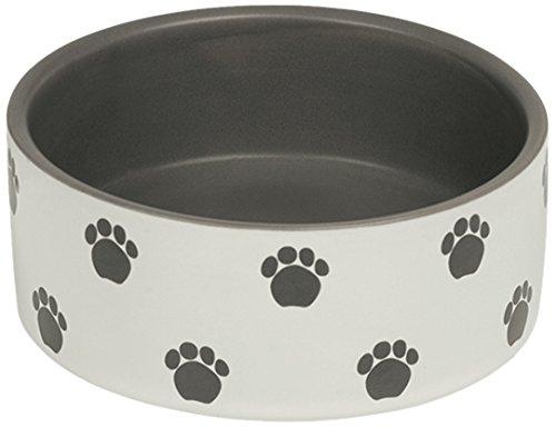 Nobby Hunde Keramiknapf 'PATA' creme / grau Ø12,0 X 4,5 cm