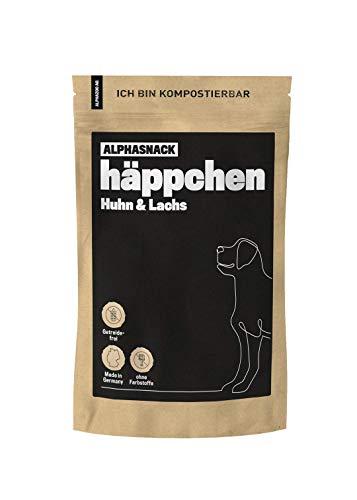 alphazoo häppchen | Snack Fleisch Hunde getreidefrei | gesunde Leckerli zur Belohnung und Training |...