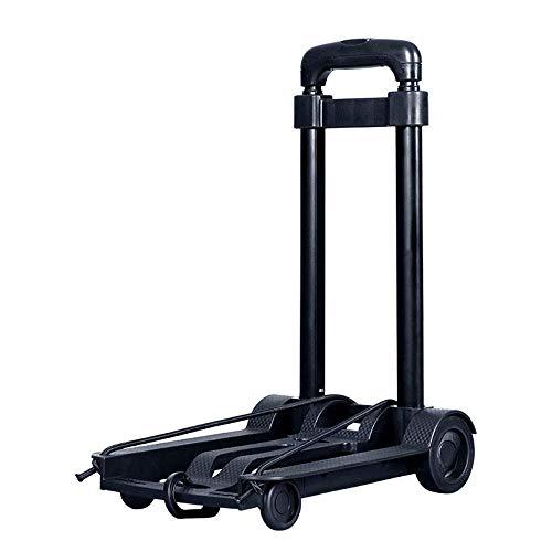 Küche Tragbare Klappwagen, 35 kg Heavy Duty 4 Rad Solid Struction Utility Trolley, Gepäck, Persönlich,...