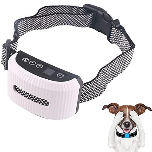 Anti-Bell Intelligentes Anti-Bell-Hundehalsband Korrigieren Sie schlechtes Haustierverhalten...