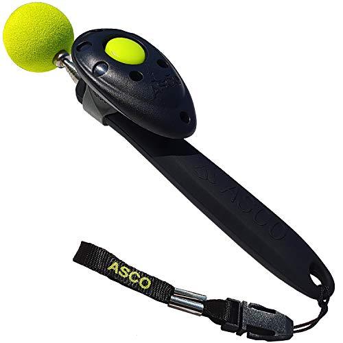 ASCO ClickStick®, Target Stick mit abnehmbarem Premium Clicker, Teleskop-Target für Hunde Katzen Pferde...