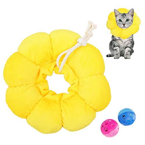 N\O Heiqlay 1 Stück Katze Wiederherstellung Halsband, Katze Schutzkragen Soft, Haustier Schutzkragen...