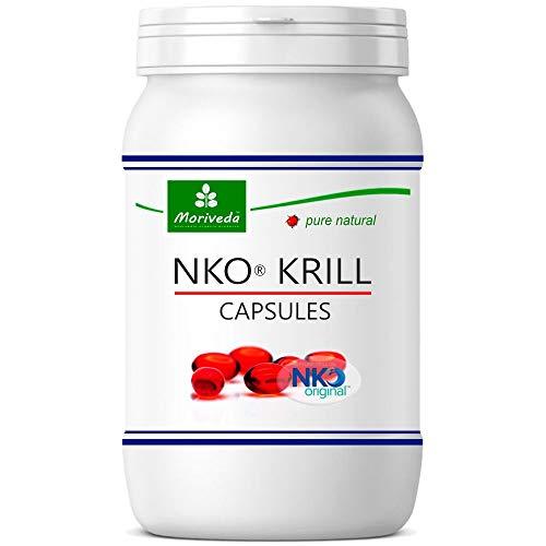 NKO Krillöl Kapseln (Testsieger) 30, 90 oder 270 Stk. in Apothekenqualität - Omega 3,6,9 Astaxanthin,...