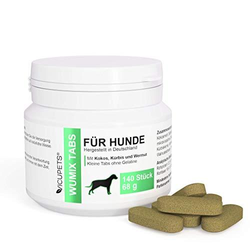 Vicupets Wumix Tabs Wurmkur Hund | Entwurmungstabletten für Hunde | Prophylaktische Wurmkur ohne Chemie...