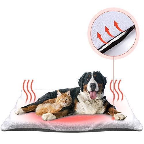 Fyore Selbstheizende Decke für Katzen Hunde kleine Tiere Katzendecken Haustierdecke selbstwärmende...