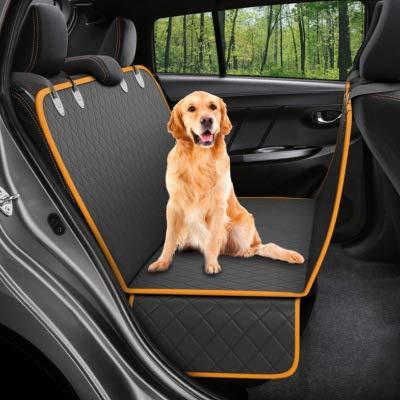 Roogeld Hunde Autoschondecke,Rückbank und Kofferraumschutz Hund,Wasserdicht - rutschfest - reißfest,...