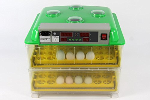 Inkubator BK96ProActive mit Zubehör VOLLAUTOMATISCH transparent 96 oder 48 Hühnereier Brutautomat...