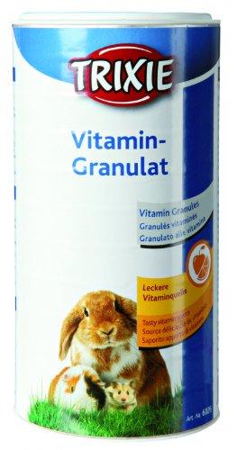 TRIXIE Vitamin-Granulat für Kleintiere, 350 g