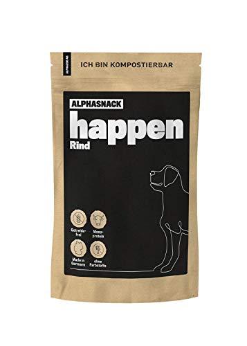 alphazoo Happen Hundeleckerli getreidefrei   Fleischsnack zur Belohnung und Training mit Monoprotein,...