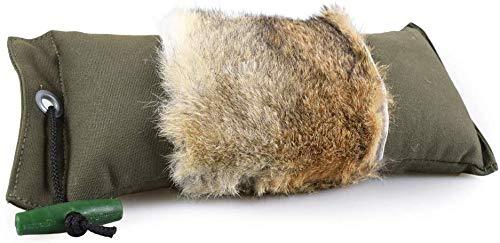 Firedog Dummy mit echtem Kaninchenfell | Robustes Apportel | Wild-Dummy für das...
