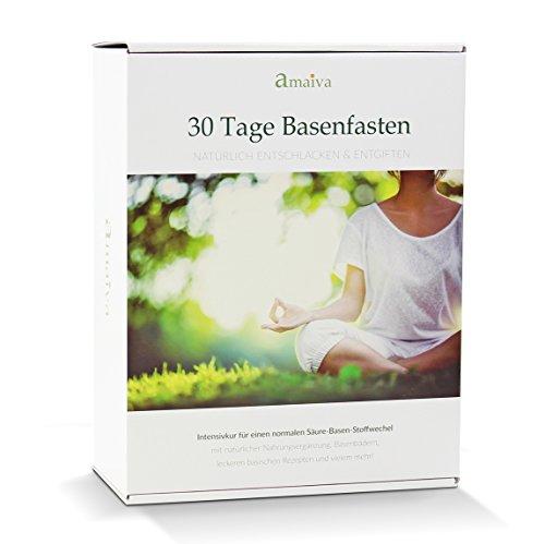 30-Tage Basenfasten - Das komplette Set für eine erfolgreiche Säure-Basen-Kur (inkl. Begleitheft,...