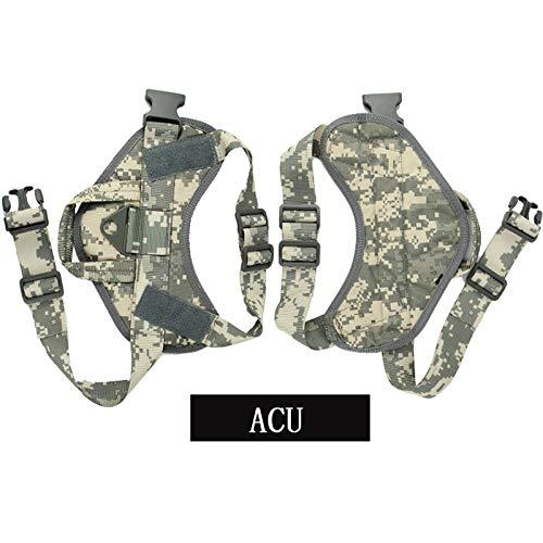 XFC-DOG-E, Multicam Militärjagdhund-Service-Hundegeschirr aus 1000D Nylon Tactical Hunde-Bekleidung...