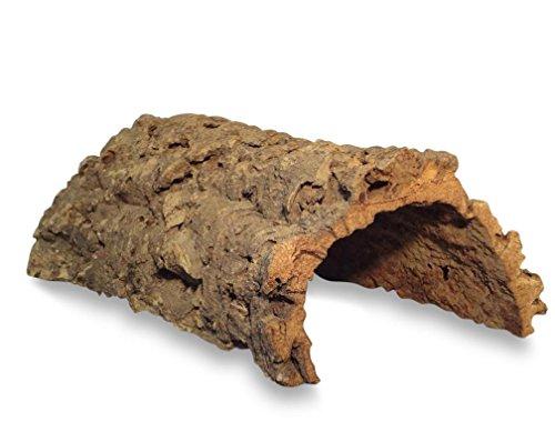 Korktunnel | Korkhöhle (Halbbogen) unten offen, 30 cm, Innenhöhe ≤ 11 cm | gereinigt & desinfiziert |...