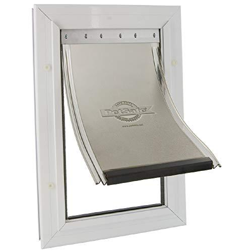 PetSafe - Staywell Robuste Aluminium Katzenklappe für Katzen und Hunde, mit abschließbarer Tür,...