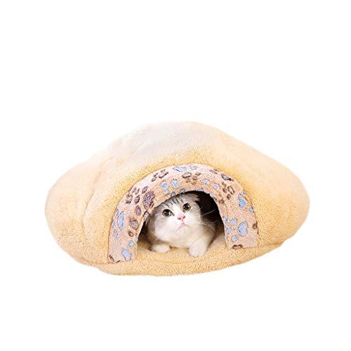 XBCWW Katzenbetten, Hundebetten Für Kleine Hunde, Beheiztes Katzenbett, Haustierbetten, Weiches Und...