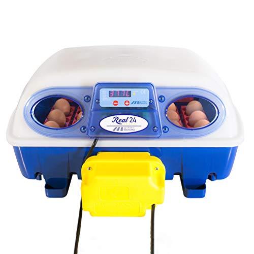 Borotto automatische REAL 24 - Patentierte professionelle Brutmaschine mit automatischem Eierwender -...