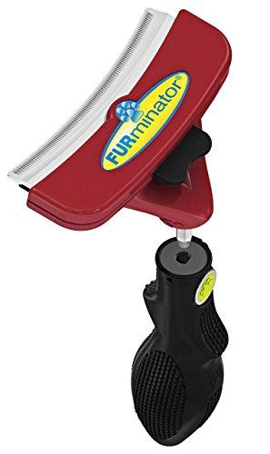 FURminator FURflex, Fellpflegebürste für große Hunde, deShedding-Tool zur Entfernung der Unterwolle,...