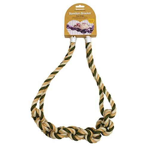 Rosewood Kleintierspielzeug Seilbrücke für Ratten gegen Langeweile (farblich sortiert)