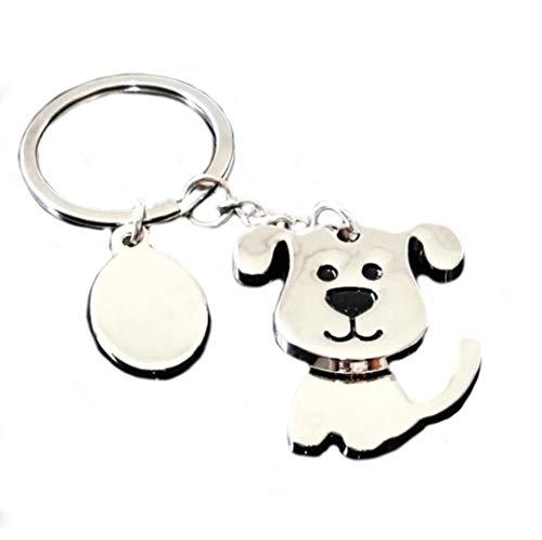 Familienkalender Beweglicher süßer Hund mit Gavurmarke Schlüsselanhänger | Glück | Geschenk | Liebe...