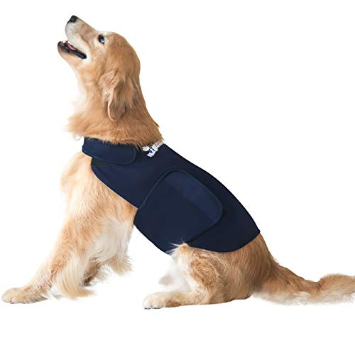 Eagloo Beruhigungsweste für Hunde Hundemantel zur Angstbekämpfung Panikgeschirr Angst Geschirr Hund...