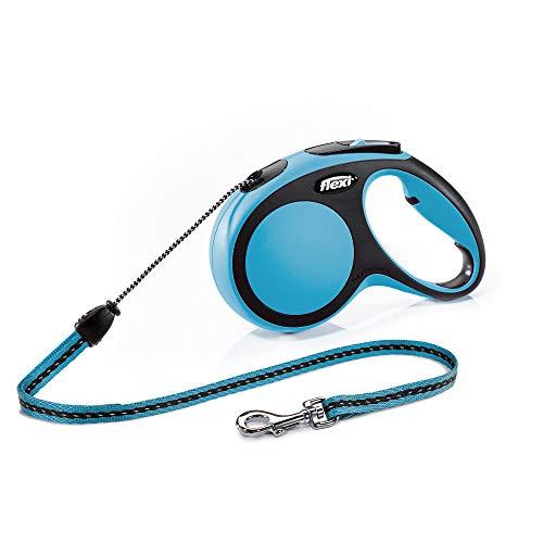 flexi New Comfort M Seil 8 m blau für Hunde bis 20 kg