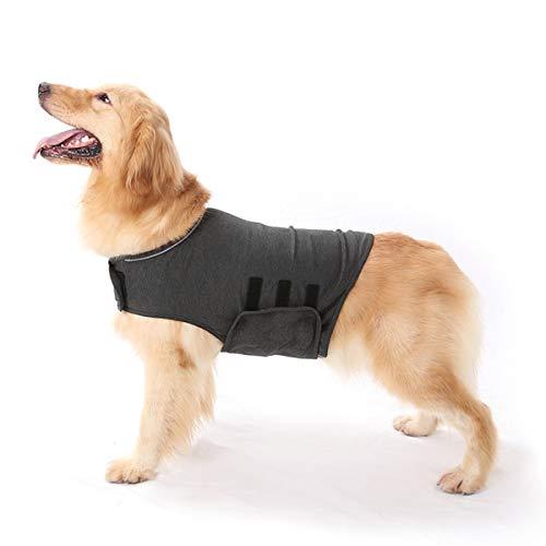 Anti-Angst-Hundejacke Hund Beruhigungsmantel Haustier Stressabbau Hemd Warme Beruhigungsweste Leichte...