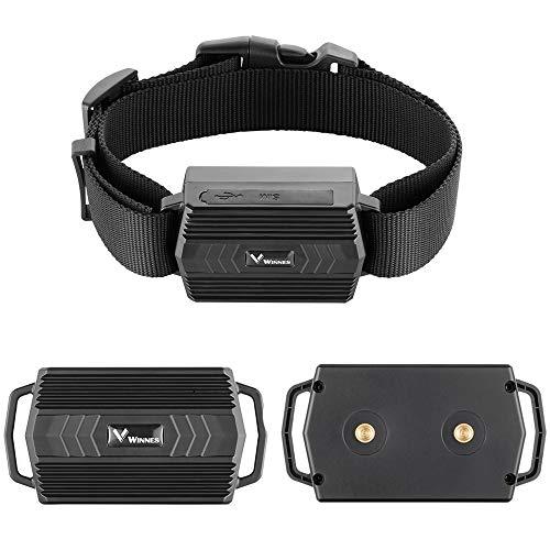 GPS Tracker Halsband Hunde für Jagdhund Kuh Schafe 3000mAh IP66 Wasserdicht Farm Pet Tracker Geo-Zaun...