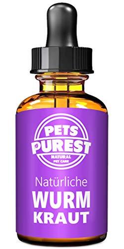 Pets Purest 100% Natürliche Wurm Kraut Pet-Liquid Alternative zu ekligen chemischen Produkten Vorteile...