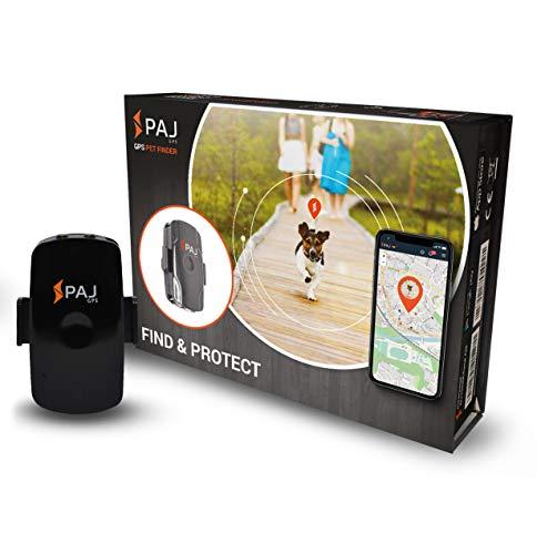 PAJ GPS PET Finder GPS Tracker für Hunde Wasserdicht etwa 2 Tage Akkulaufzeit (bis zu 3 Tage im Standby...