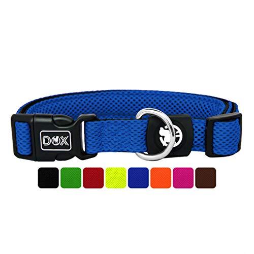 DDOXX Hundehalsband Air Mesh, verstellbar, gepolstert   viele Farben   für kleine & große Hunde  ...