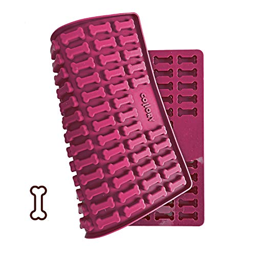 Collory Silikon Backform medium Knochen, für Hundekekse & Hundeleckerlis, Pralinenform, Schokoladenform,...