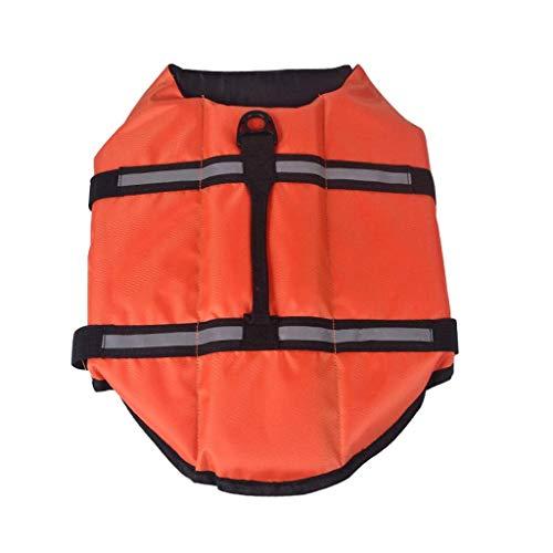 ZZXXMM Schwimmweste für Hunde, Airbag, faltbar, verstellbar, reflektierend, Schwimmweste für Hunde,...