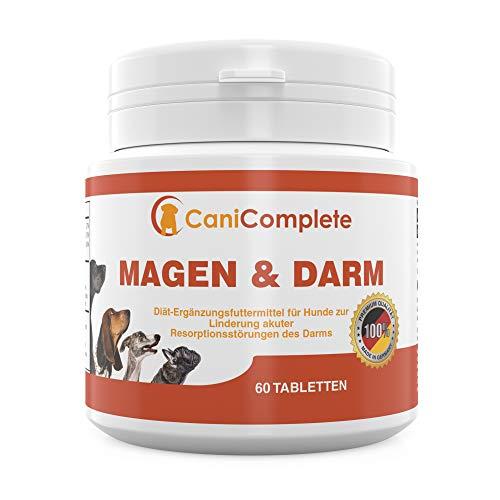 CaniComplete - Magen und Darm. Durchfall Tabletten. Verdauungshilfe für Hunde und Katzen. Bei...