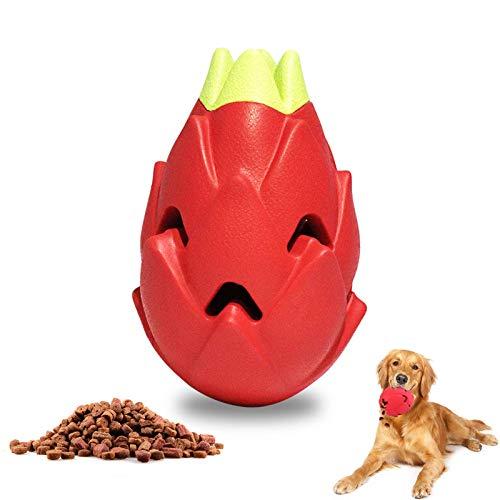Hundespielzeug Unzerstörbare Drachenfrucht / interaktives Spielzeug Langlebiges Kann Essen hinzufügen...