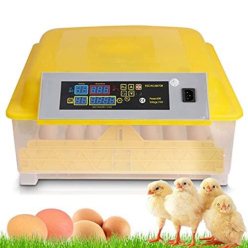 Oppikle 48 Eier Intelligentes digitales Brutmaschine Brutkasten mit LED Temperaturanzeige und...