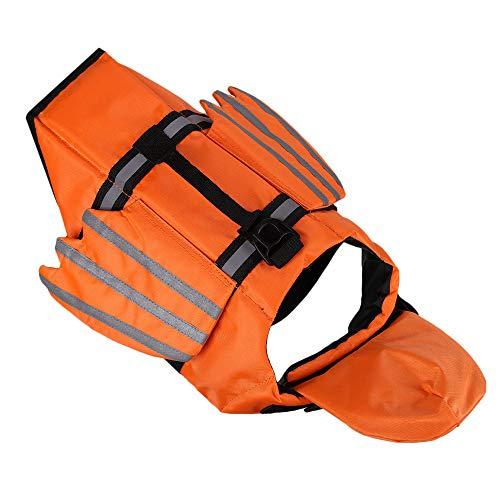 OMICE Strapazierfähiges Schwimmgeschirr mit reflektierenden Streifen, Schwimmweste für Welpen, Surfen,...
